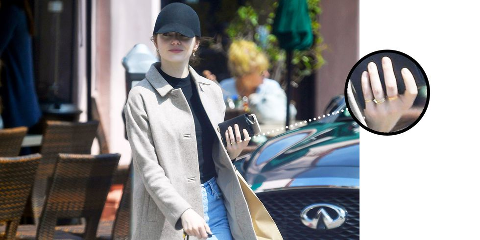 did emma stone get engaged?