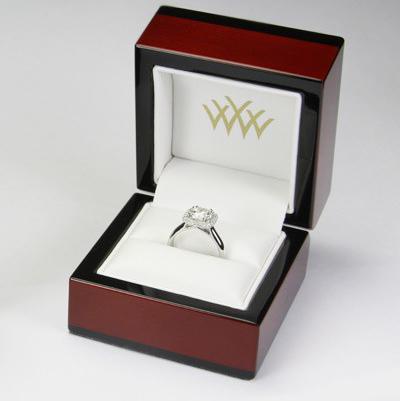 Whiteflash Ring Box